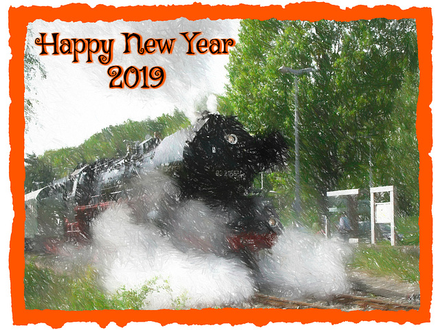 The New Year's Eve Express is on the way ... ;-)