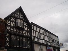 Elizabethan façade.