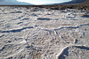 Death Valley, Badwater Basin, Walking on salt