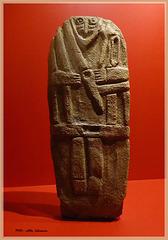 männlicher Statuen-Menhir