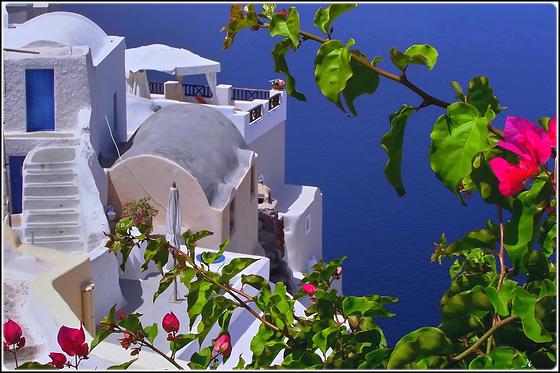 Santorini : Thira nel blu - (982)