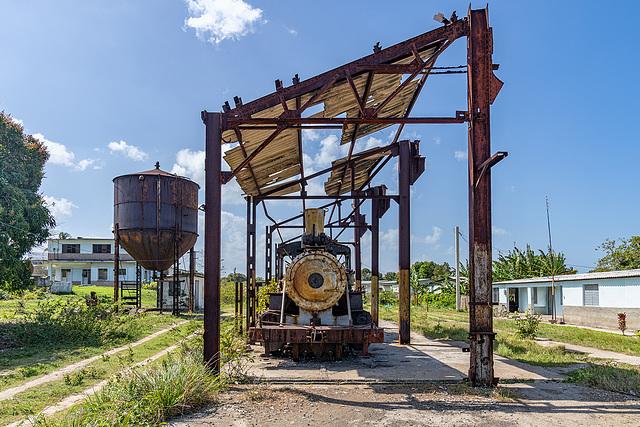 """Baldwin #1256 at sugar mill """"Frank País"""""""