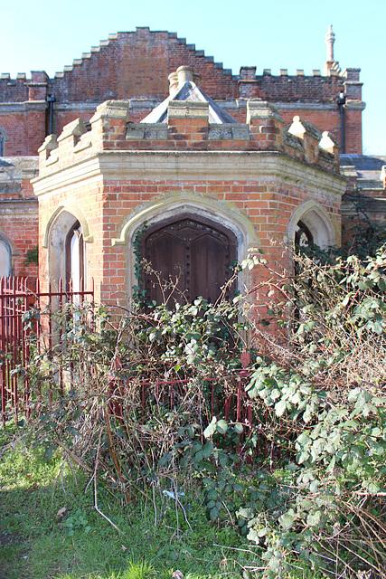 Lodge to Cockfield Hall, Yoxford, Suffolk