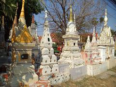 Lieu de culte sur le Mékong (Laos)
