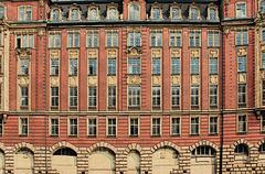 Am Alsterfleet in Hamburg: Alte Oberfinanzdirektion