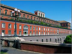 Napoli : Palazzo reale lato sud - (834)