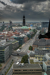 Dark Clouds Over The City (270°)