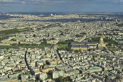 Paris de la tour Eiffel