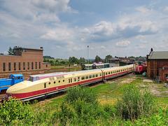 (181/365) Blick in's Sächsische Eisenbahnmuseum Chemnitz