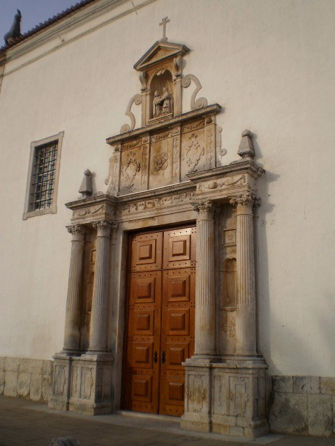 Door of the Church of Mercy.