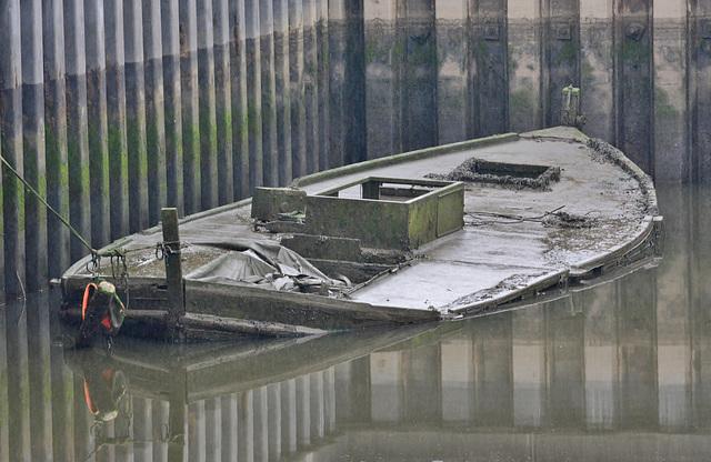 My favourite sunken boat!