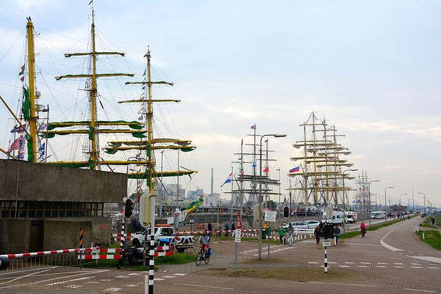 Sail 2015 – Tall ships in the IJmuiden lock