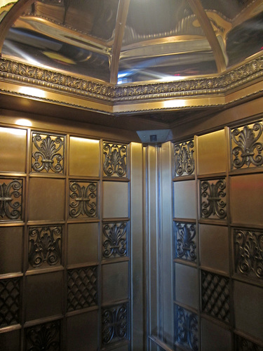 Los Angeles City Hall Elevator Interior (2816)