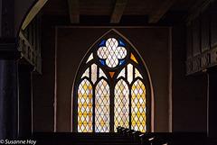 Fenster in der Pfarrkirche von Altenkirchen