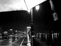 Le baptême du parapluie .