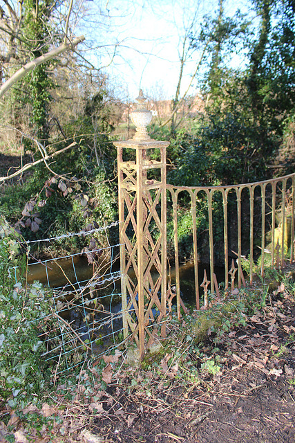Bridge in Cockfield Hall Park, Yoxford