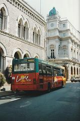 Jersey bus 8 (J 46631) in St. Helier - 4 Sep 1999