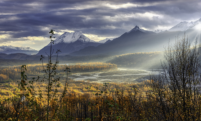 Matanuska River Valley