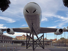 DC-8 at Exposition Park (2663)