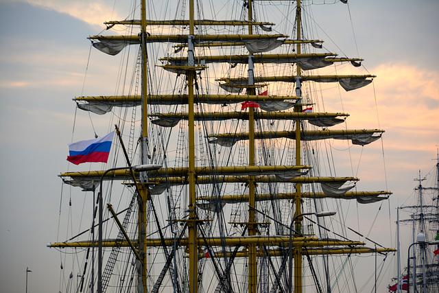 Sail 2015 – Masts of the Kruzenshtern