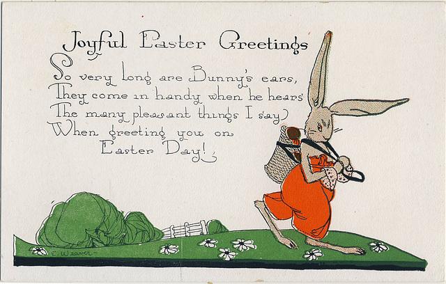 6750. Joyful Easter Greetings