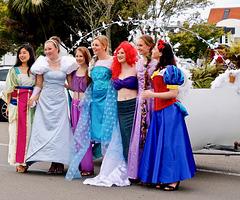 Les belles de la parade du 3 décembre de Rotorua