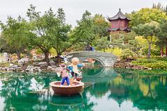 Canada - Montréal - Botanical Garden - Chinese Garden