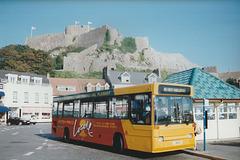 Jersey bus 8 (J 46631) in Gorey - 4 Sep 1999