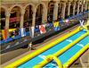 Genova : Lo scivolo ad acqua è pronto - (954)