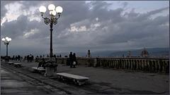Blaue Stunde auf der Piazzale Michelangelo Florenz - HFF