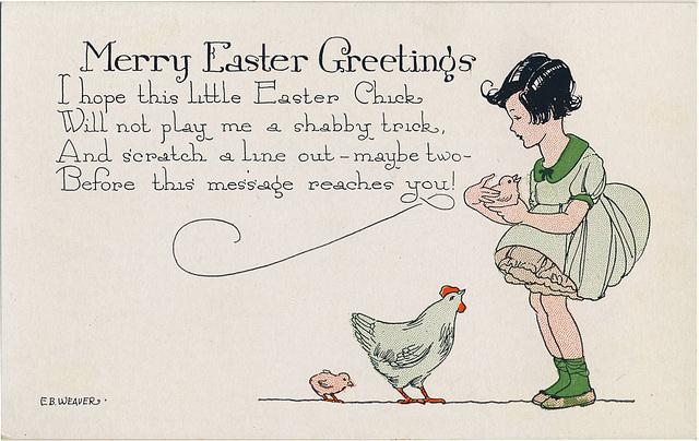 6753. Merry Easter Greetings