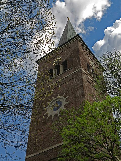 Der Turm der ehemaligen Jakobus-Kirche