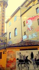 Bologna  -  Via del Guasto..zona Universitaria