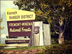 Fremont-Winema Ranger headquarters