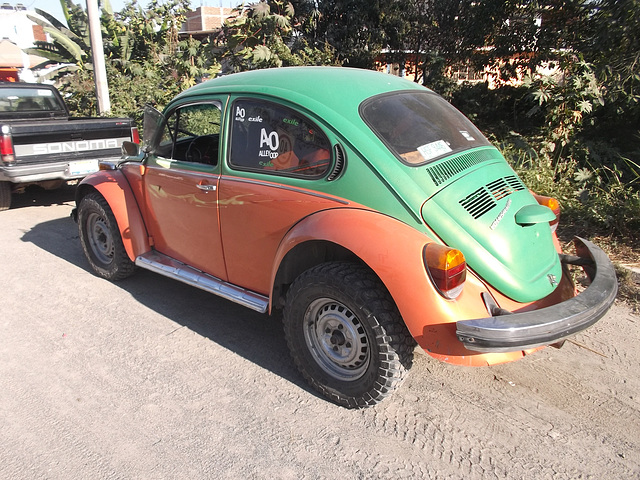 Une charmante p'tite cox / A charming little VW beetle