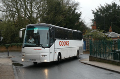 Cook's Coaches YJ08 NSO in Bury St. Edmunds - 23 Nov 2019 (P1060015)