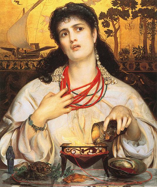 La Terrible Médée, par Frederick Sandys (1868)