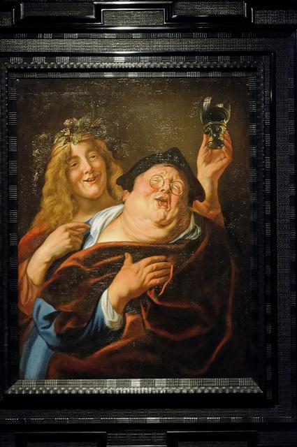 """""""Bacchus"""" (Jacques Jordaens - milieu 17e s.)"""