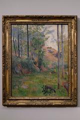 """""""Paysage de Pont-Aven"""" (Paul Gauguin - 1888)"""