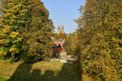 Golden October at Helmsley - North Yorkshire