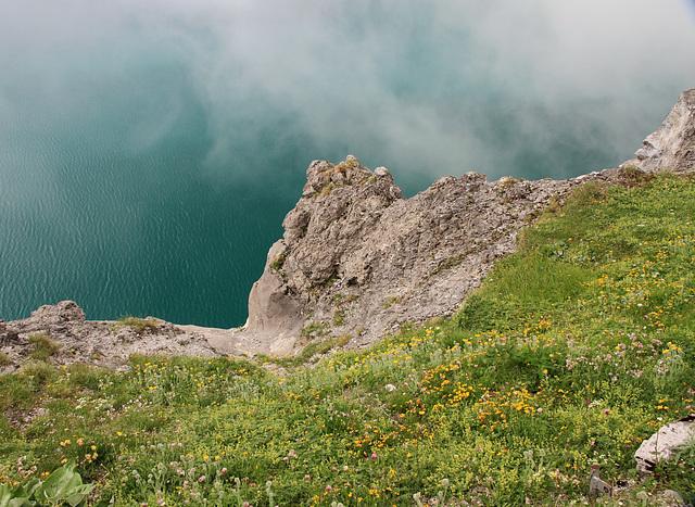 Über dem See