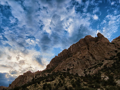 The Chiricahua Mountains