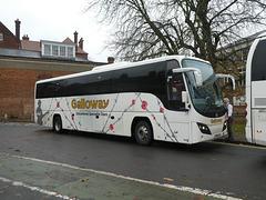 Galloway 155 (YN13 AVV) in Bury St. Edmunds - 23 Nov 2019 (P1050937)