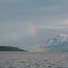 Norway, Rainbow in the Rain