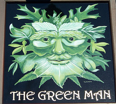 The Green Man, œuvre de Peter Oldreive