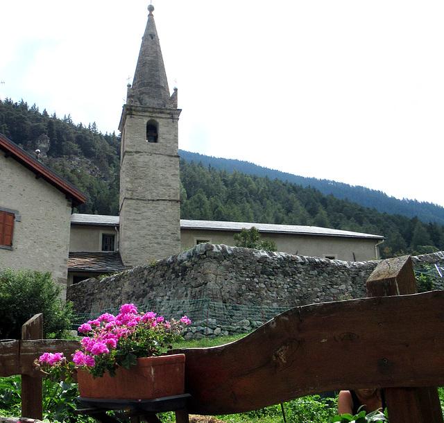 K wie KIRCHE in Savoie (France)