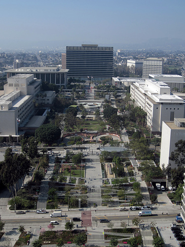 View Of LADWP From Los Angeles City Hall (2836)