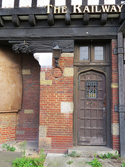 railway hotel, edgware, london