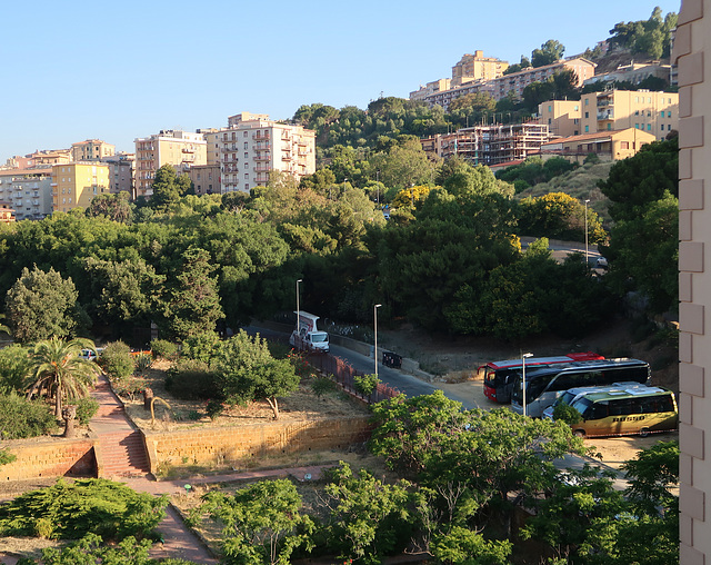 View from Hotel della Valle, Agrigento