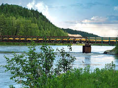 The Quesnel River.